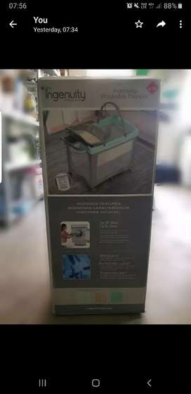 baby campcot with matress
