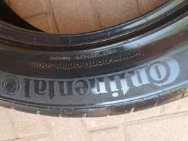 Continental Tyre 215/55 R18  (one tyre)