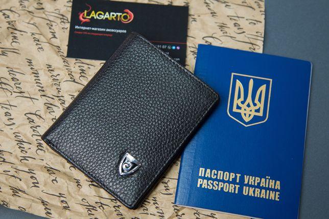 НОВИНКА!!! Ультракомпактный КОЖАНЫЙ мужской кошелек портмоне Jinbaolai Чернигов - изображение 2
