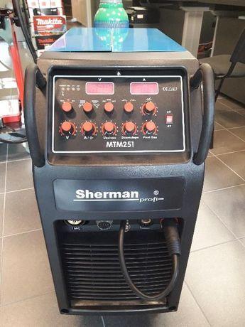 Spawarka inwerter półautomat SHERMAN MTM 251 MIG/MAG TIG HF migomat Rzeszów - image 4