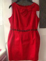 sukienka czerwona rozm 42 cena do negocjacji