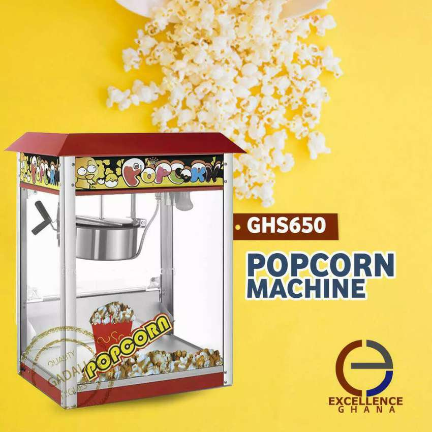 Electric Popcorn Machine 0