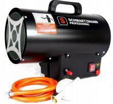 Mocna nagrzewnica powietrza dmuchawa gazowa 10kw firma SCHWARTZMANN