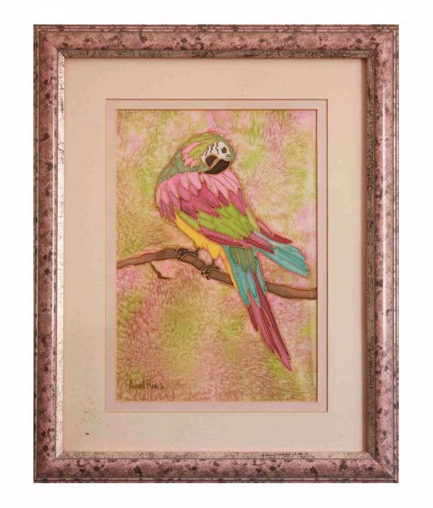 Parrot Oil Paintings For Sale 0