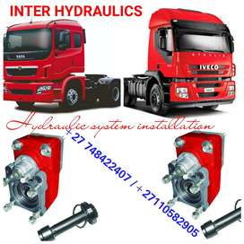 IVECO PTO AND PUMP INSTALLATIONS PLUS FULL HYDRAULIC SYSTEM