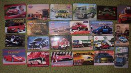 Kalendarzyki ( 1996 do 2007 ) motoryzacja - 400 sztuk