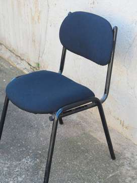 A stacker chairs