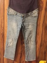 Jeansy ciążowe H&M MAMA 46