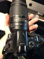Объектив Nikon Nikkor 55-300mm Идеал Nikon D5100 D5200 D5300)