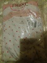 пижама человечек NEXT спальник для девочки