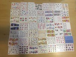 Naklejki na paznokcie 50 kartoników