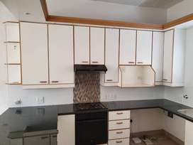 Kitchen cupboards with Granite tops and Stove/oven combo - great deal