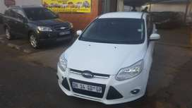 2015 White Ford Focus for sale