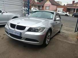 2007 BMW 320d with a sunroof