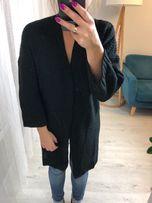 sweter kardigan narzutka czarny nowy rozmiar uniwersalny modny dlugi
