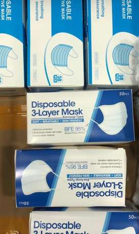 KN95 masks, 3 ply, Gloves, other PPE wear