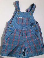 Lee Jeans, śliczne, markowe, jeansy, ogrodniczki, dla dziecka 18 miesi