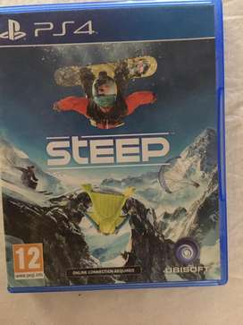 Steep ps4 price negotiable