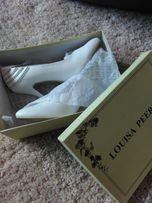 Свадебные туфли Louisa Peeress (белые)