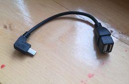 OTG USB na micro USB przewód kabel pzejściówka gniazdo