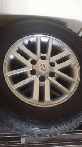 RIMS for sale - 3.0D Toyota Fortuner 2013
