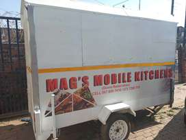 New mobile kitchen trailer fully equipped