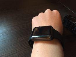 Защитное стекло для apple watch 42mm (округленные края - 3Д)