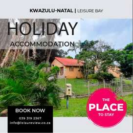 Seaside Holiday House Rental from R1950 p/d