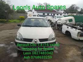 Renault Clio 1.4 stripping for Spares