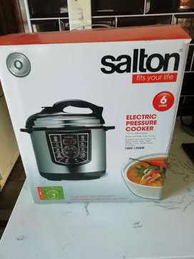 Salton electric presure cooker