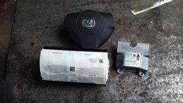 poduszki airbag kurtyny zafira b komplet