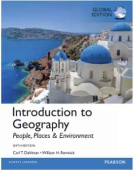 Introduction to Geographical, People, Places & Environment, Dahlman
