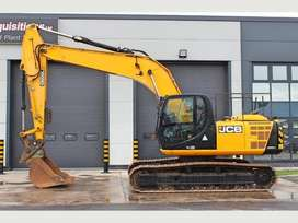 JCB 220 LC JCB JS220LC  4851 Hours. Quick Hitch. Piped For Hammer. Box