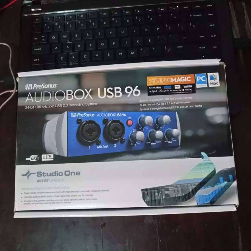 PreSonus AudioBox USB 96 Audio Interface Sound Card! 0