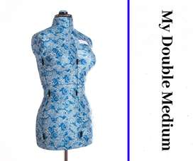 New My Double - Medium Adjustable Mannequin/Dolls/Sewing Dolls/Tailor