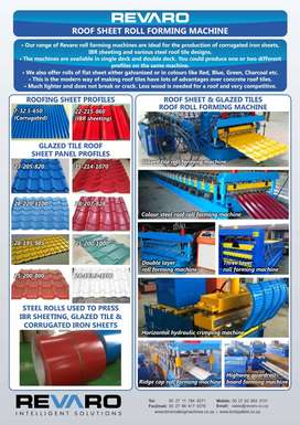 Revaro Roll formers