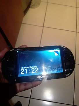 Psvita with game has a cracked screen but no problems works perfect