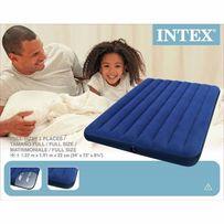 Новый! Матрас надувной Интекс Intex 68758 - двухместный 137 см*191 см