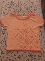 Новая вязаная футболка, размер 42, 100 р