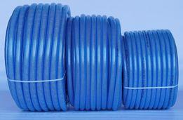 """Wąż techniczny 25mm (1"""") przewód PCV zbrojony igielitowy 25m 50m"""