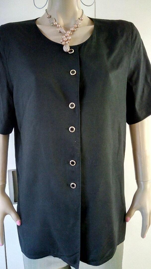 Crna bluza - viskoza br38 - 40 0