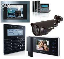Zakładanie monitoringu montaż domofonu wideodomofon alarmu alarm Tychy