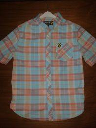 Koszula z krótkim rękawem Lyle Scott r. 140-146 na chłopca 10-11 lat