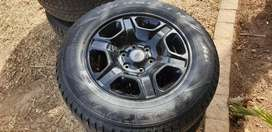 Ford Ranger Mags and tires.