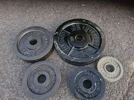 72KG Olympic Weight Set for Sale!