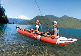 Inflatable kayak - Intex Excursion Pro K2 - used once