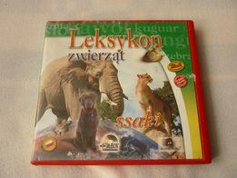 Leksykon zwierząt, płyta CD do nauki dla dzieci