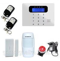 Комплект GSM Сигнализация G30С звонит на телефон !