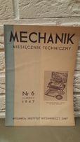 Miesięcznik Techniczny Mechanik Nr 12 1949