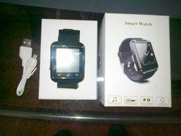 Smart Watch, nowy, czarny, pełen różnych funkcji, kabel USB itd.